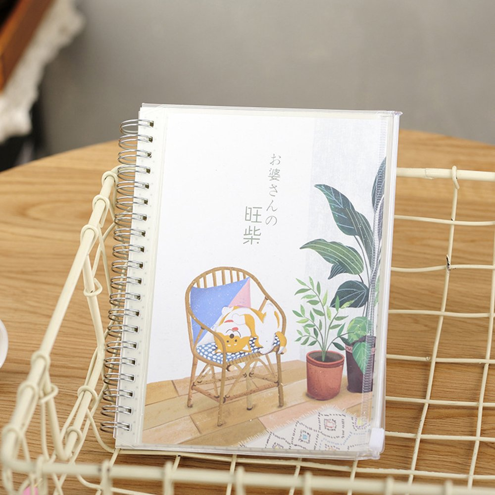 buku-tulis-bukku-countryside-shiba-inu-spiral-mixed-notebook